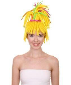 "Adult Women's 16"" Inch Medium Length Dreadlock Halloween Hinterland Troll Wig"