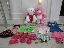 Build a Bear Bears Accessories Clothes shoes 22 pieces
