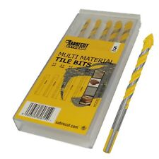SabreCut Multi-Material Tile Drill BIts Set for Ceramic Porcelain Granite Marble