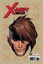 X-Men Red #3 Marvel Comics 2018 Charest 1:10 Headshot Variant Cover Gambit