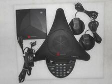 Polycom SoundStation 2W 2201-67800-160 Conference Phone w/ Wireless Receiver