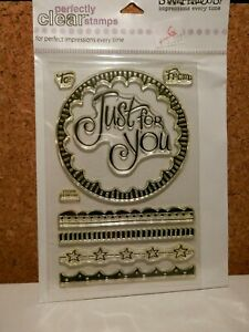 Just For You *NEW* Stampendous Clear Topper Stamp