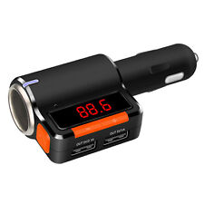 Bluetooth FM Transmitter for iphone 7 7plus 6s 6 Plus Android Cigarette Lighter
