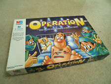 OPERATION BOARD GAME BY MB GAMES -  100% COMPLETE
