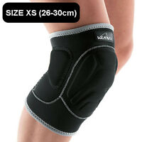 VULKAN PADDED KNEE SUPPORT PROTECTOR PAD GUARD SPORTS BRACE SIZE XS (26-30CM)