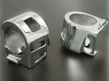 Motorcycle Aluminum Chrome Switch Housing Cover For Kawasaki Vulcan VN 1500 1600