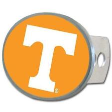 Tennessee Volunteers Trailer Hitch Receiver Cover Metal Oval Class II & III