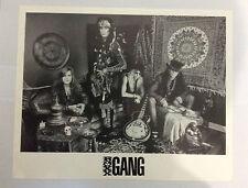 ROXX GANG '8 x 10' Black & White Band Photo Glam Rock Kevin Steele