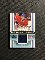 2013-14 UPPER DECK SP GAME USED TOMAS PLEKANEC AUTHENTIC FABRICS PATCH #ed 15/35