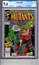 New Mutants #86 CGC 9.6 W/P'1st App..Stryfe(Cameo)! Liefeld /McFarlane C&A