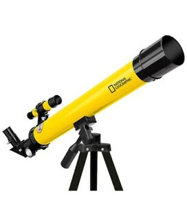 National Geographic 50/600 AZ Telescope with Mount and Tripod, Birthday Gift