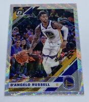 D'Angelo Russell 2019-20 Panini Optic Fanatics Silver Prizm Wave Warriors #28