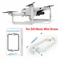 Per DJI Mavic Mini Drone Landing Gear Extensions Leg Height Support Protector *2