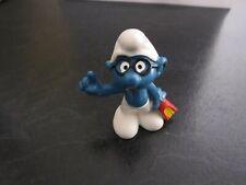 Smurfs Bookworm Smurf Vintage Rare (e)