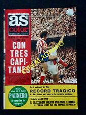 REVISTA AS COLOR 364 ATLETICO MADRID-RAYO-BARCELONA-ARGENTINA-REAL SOCIEDAD ETC