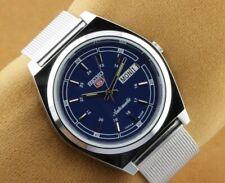VINTAGE SEIKO 5 INDIGO BLUE 6309A AUTOMATIC JAPAN MEN WRIST WATCH 37.5mm..