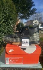 Nike Air Trainer 1 MID PRM QS 607081-002 Black Metallic Gold Money One Sz 10