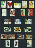 AUSTRALIA  2016...COLLECTION   OF $1.00 STAMPS ..SETS & PART SETS...USED
