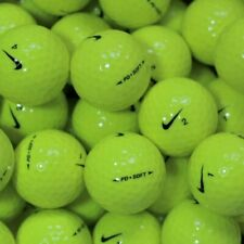 50 nike Pd soft Yellow Golf Balls AAAA lakeballs IN Top Quality Balls Yellow