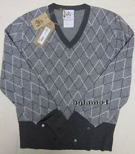 $600 Brooks Brothers Thom Browne for Black Fleece  wool sweater BB1 Small