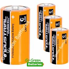 4 x Duracell C Size Industrial Alkaline Batteries Procell LR14 Cell MN1400 BABY