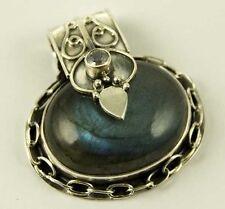 Ovale Echtschmuck-Halsketten & -Anhänger aus Sterlingsilber