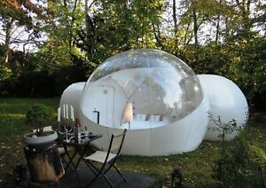 SALE Luxury Bubble Dome Inflatable Sky Tent WITH PRIVATE ROOM RRP £2099