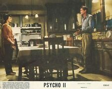PSYCHO II -1983 - 3 original 8x10 Mini Lobby Cards - ANTHONY PERKINS, MEG TILLY