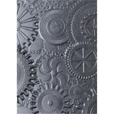 Sizzix Texture Fades 3D Embossing Folder By Tim Holtz-MECCANICA 662715