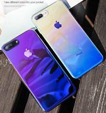 Handyhülle Farbwechsel Schutz Hülle Bumper Back Cover Case für Apple iPhone X