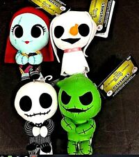 Funko Nightmare Before Christmas Super Cute Plushies Complete Set Jack Sally