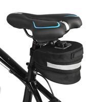Waterproof Bike Wedge Saddle Bag MTB Seat Pack Bags Cycling Bicycle Pocket SD