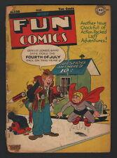 MORE FUN COMICS #120, DC Comics, 1947, LOW GRADE CONDITION
