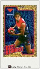 2010 AFL Herald Sun Trading Cards Best & Fairest BF9 Aaron Davey (Melbourne)