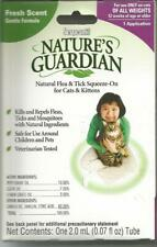Nature's Guardian Squeeze-On Flea & Tick Control for Cats each