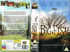 SELL THRU VIDEO SLEEVE - BIG FISH / TIM BURTON - PLEASE READ THE DESCRIPTION!