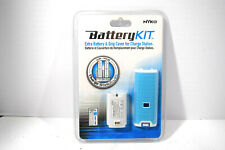 Nyko (87017) Blue Battery Kit for Nintendo Wii Charge Station Brand New