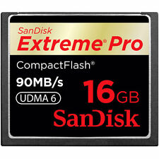 16GB SanDisk Extreme Pro CompactFlash CF Card 90MB/S SDCFXP-016G For CANON NIKON