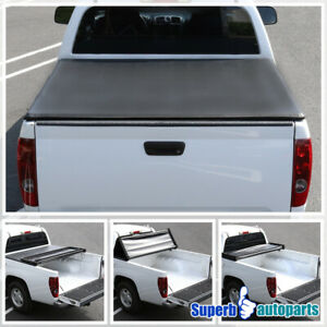 For 1994-2003 Chevy S10 GMC S15 Sonoma TriFold Tonneau Cover 6 Ft Short Bed