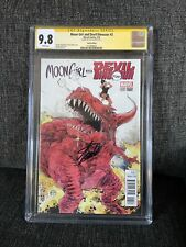 🔥Moon Girl and Devil Dinosaur #3 1:25 Paul Pope CGC 9.8 Signed Stan Lee🔥