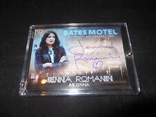 Bates Motel Autograph Trading Card Jenna Romanin #AJR (Holder)