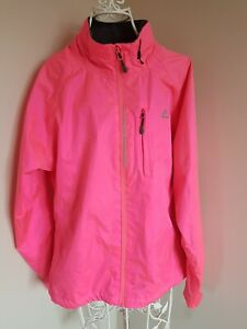 Dare2b ladies jacket Running Cycling Reflects Zipped Pockets Water Wind Proof