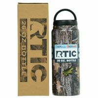 RTIC 26oz Bottle Double Wall Vacuum Insulated Stainless NEW 2019 w Color Options