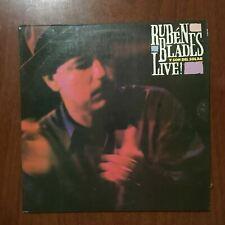 Ruben Blades Y Son del Solar – Live [1990] Vinyl LP Latin Salsa Elektra Records