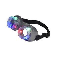 Unisex Grey Alien Light Up Rave Goggles Kids Minion Festival Eyewear