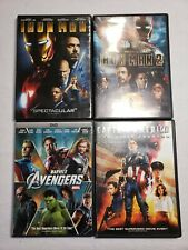 Marvel Movie Lot of 4 DVDs - FREE SHIPPING!