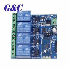 12V/10A 4-Channel Bluetooth Relay Module Mobile APP Remote Control Switch