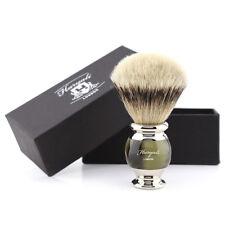 Luxury Men's Shaving Brush Super Badger Silvertip Barber Bear Brush Wet Shaver