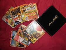 Vintage San Francisco Theme Coasters, Box Set, Annie Modica