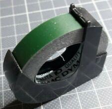Vintage - Rouleau DYMO Embossing Tape 9 mm Vert Matt - 3 mètres de long